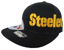 Pittsburgh Steelers NFL YOUTH Reebok Black Fitted Hat
