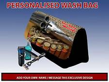 PERSONALISED GUNS HUNTING PENCIL CASE GAMES CARRIER DS TRAVEL BAG MENS DAD GIFT