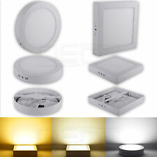 9W/15W/21W Dimmable LED Surface Panel Wall Ceiling Down Lights Mount Bulb Lamp #