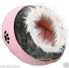 Trixie Cuddly Dog, Cat or Puppy Cave hide Bed Igloo Pink, Brown, Blue, or Lilac