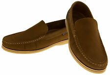Mens Leather YACHTSMAN Cool Classic Formal Moccasins Deck Boating Loafers Shoes
