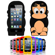 SOFT SILICONE MONKEY CARTOON CASE COVER FOR IPOD TOUCH 5