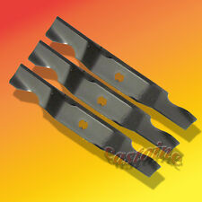 "3 Heavy Duty Blades For 50"" Cut   Replaces Cub Cadet 742-04053A"