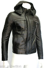 Men's Ghost Protocol Tom Cruise Mission Impossible Black Napa Leather Jacket