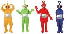 New TeleTubbie Costumes! Jumpsuits for Po Laa-Laa Tinkie Winkie Dipsy Adult Size