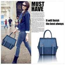 2014 HOT New handbag fashion handbag shoulder bag diagonal package blue backpack