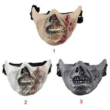 War Game Airsoft Paintball Strike Protection Gear Military Zombie Half Face Mask