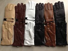 Faux leather general use / driving / dress gloves with insulated lining