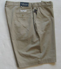 NEW POLO RALPH LAUREN FLAT FRONT PROSPECT SHORTS  msrp $69.50