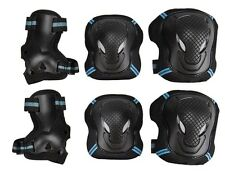 Roller Skating Skateboard Knee Elbow Wrist Protective Guard Pad Gear Pack