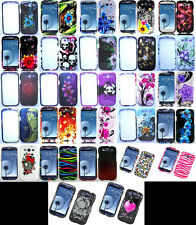 DESIGN Snap-On Faceplate Phone Cover Case for Samsung Galaxy SIII S3
