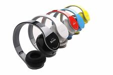 Black/Red/Whie/Blue/Red Bluetooth Headphones for All Cell Phone Laptop PC Tablet
