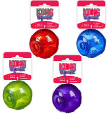 Kong Squeezz Ball Squeak Toy for Dogs Puppies - Fetch Catch - Small Medium Large