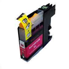 1 CHIPPED LC123 / LC125 MAGENTA Compatible Ink Cartridge for Brother Printers