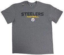Pittsburgh Steelers Football NFL Line of Scrimmage Men's Gray T-Shirt