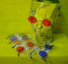 New 60's Lennon Hippie Costume Glasses- Blue, Green, Pink, Purple, Red or Yellow