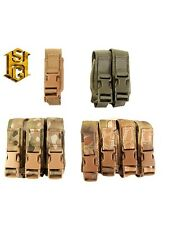 HSGI Single & Double Pistol Magazine Pouch TACO Cousin-Multicam-Kryptek-CB-OD-BK