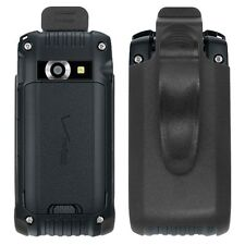 Black Holster Cover Case w/ Rotating Belt Clip for Casio G'zOne Ravine 2 / C781