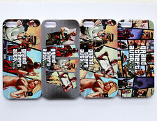GRAND THEFT AUTO 5 V GTA5 xbox ps3 game Pattern Hard Case Cover For iPhone 5 5s