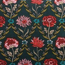 Vintage Liberty Cotton Poplin Fabric, 145cm wide Pink Roses Carline
