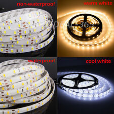 5M SMD 5630 3528 5050 300 LED Strip Light Flexible Lamp Waterproof/Nonwaterproof