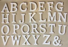 Wood Thick English Letters Alphabet Birthday Wedding Party Favours MPF