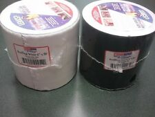 """Eternabond Rubber Roof Seal 4"""" x 50' and 6""""x50'  Black or White Roof Repair Tape"""