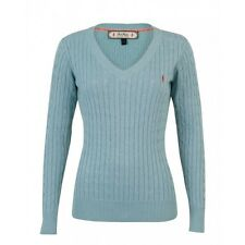 Jack Murphy Ladies Katie V Neck Sweater Knitted Jumper