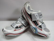 Brand New Shimano SH-TR 70 Road Carbon Cycling Shoes Silver/Red