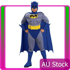 Kids Batman Brave And Bold Deluxe Costume Boy Muscle Chest Boys Child Halloween