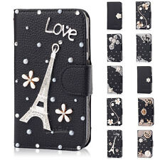 Bling Leather Flip Phone Case Cover Wallet  for Samsung Galaxy S Advance i9070