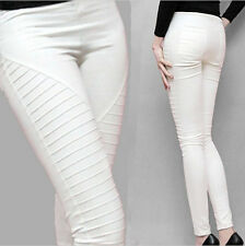 New Women Leisure Fold Feet Plus velvet Trend all-match Long Pencil Hip pants