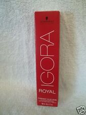 NEW Schwarzkopf IGORA ROYAL Permanent Color (Level E-0 to 7) ~ Free Ship In US!