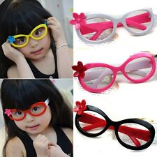Children Kid Girl Big Glasses Frame No Lenses Party Photographing Accessory Hot