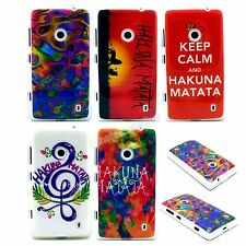 Iso Colorful Painting TPU IMD Gel Soft Cover Case Skin for Nokia Lumia 520 N520