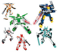 Building block plastic toy Interplanetary robot war Assembly model game gift 1pc