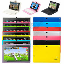 """16GB 7"""" ANDROID 4.4 512M A33 Quad Core Tablet PC MID WiFi + Keyboard Best Gift"""