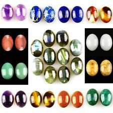 18mm Oval flatback Cabochon CAB Ring Face Jasper Gemstone Accessory Wholesale