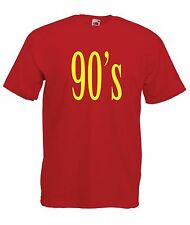 90s music fancy dress party gift NEW Boys Girls T SHIRT TOP size Age 1-15 Years