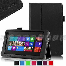 Fintie Folio Stand Cover Case for Dell Venue 8 Pro Windows 8.1 Tablet 32GB 64GB