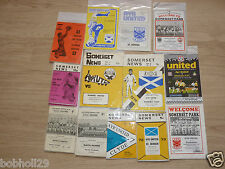 Ayr United Home Programmes 1967/68 onwards. Select the one(s) you require