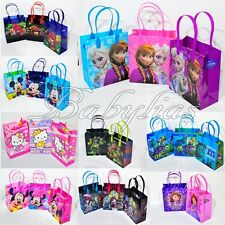 Party Favor Bags Birthday Treats Frozen Minnie Mickey Candy Loot Gift (12 PACK)