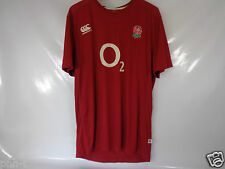 CANTERBURY RUGBY ENGLAND RED TSHIRT TRAINING TOP M XL GREAT QUALITY BNWT