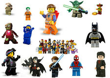 Lego Characters iron on t shirt transfer star wars / harry potter / lego movie
