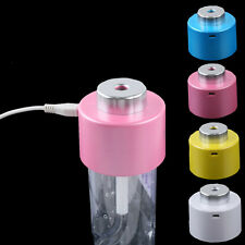 Hot Sale USB Mini Water Bottle Cap Humidifier Office Home Blue Pink White Yellow