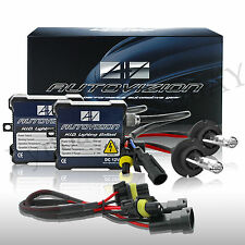 Autovizion SLIM HID Conversion Kit H4 H7 H11 H13 9003 9005 9006 H16 880 6K 5K X