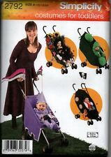 Simplicity Sewing Pattern 2792 Baby Toddler Costumes Stroller Parade Bee NEW