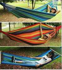 Hot New Thick Canvas Hammock Camping Swing Hanging Chair Outdoor Garden Hammock