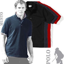 Musto - MU005 - Mens Pique Teamwear Heavy Cotton Polo Shirt (4 Cols)