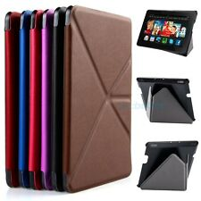 """For Amazon Kindle Fire HDX 7"""" PU Leather Case Cover Folding Thin Smart Standing"""
